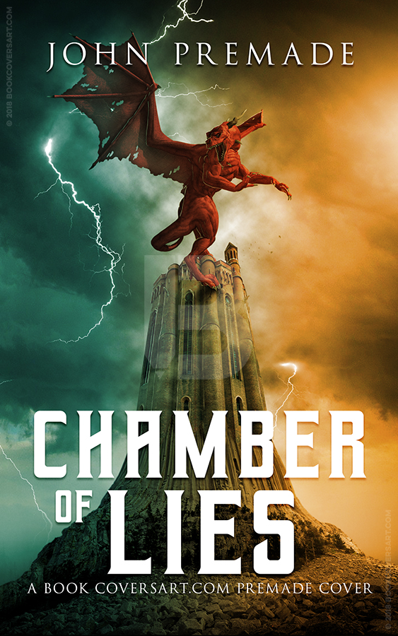 Book Cover Art Commission : Chamber of lies books covers art