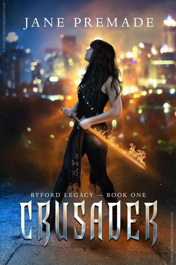 Urban Fantasy Book Cover Artists : Crusader premade urban fantasy ya ebook book cover books