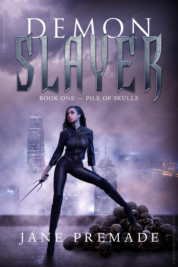Urban Fantasy Book Cover Artists : Demon slayer premade urban fantasy young adult ya