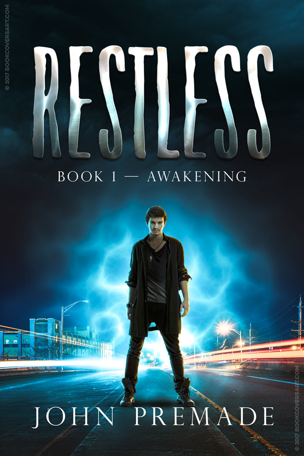 Urban Fantasy Book Cover Artists ~ Restless premade urban fantasy ya ebook book cover books