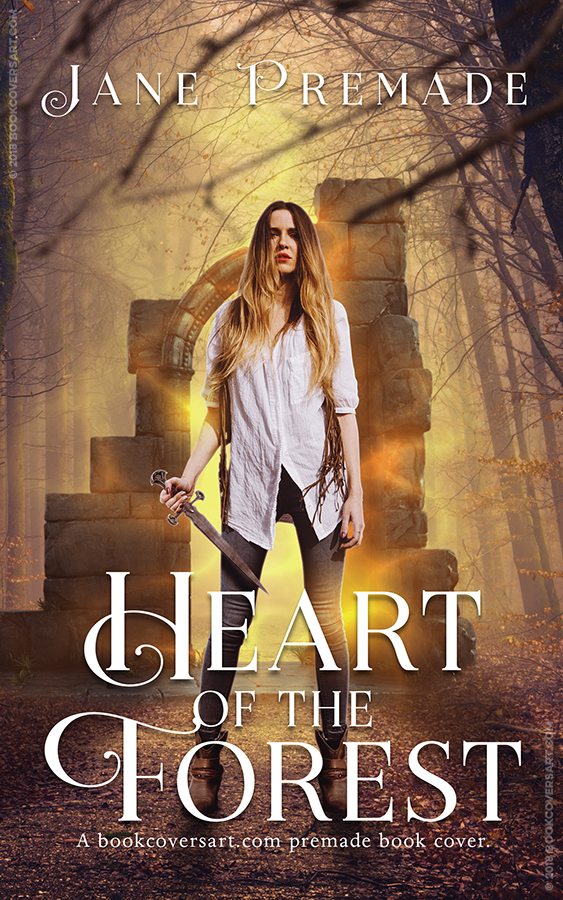 Urban Fantasy Book Cover Artists ~ Heart of the forest supernatural urban fantasy premade