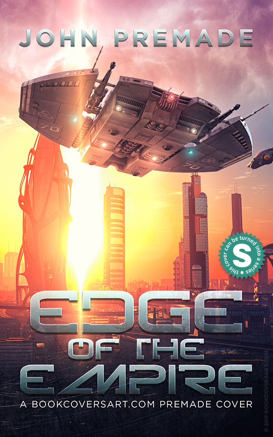 Military Science Fiction Space Opera Premade Book Cover