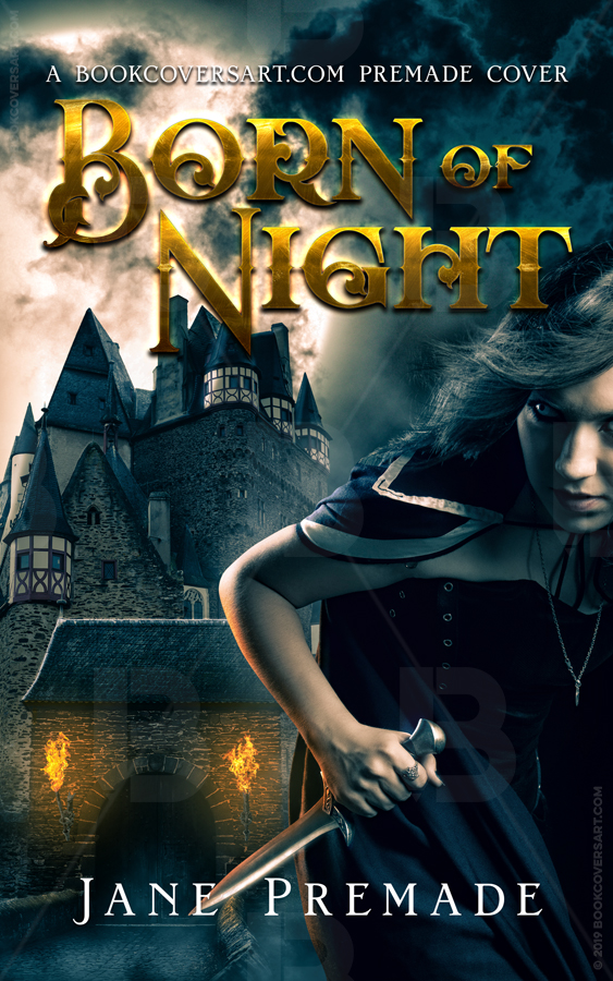 Dark Fantasy Premade Book Cover