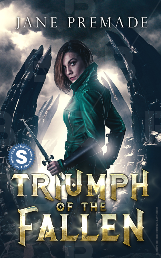 urban fantasy premade book cover