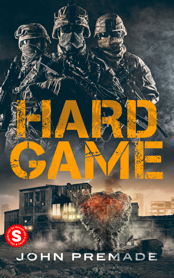 Action-War-Thriller-Military-Premade-Book-Cover