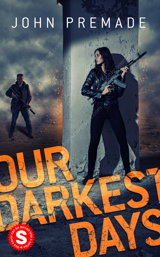 action thriller apocalyptic premade book cover