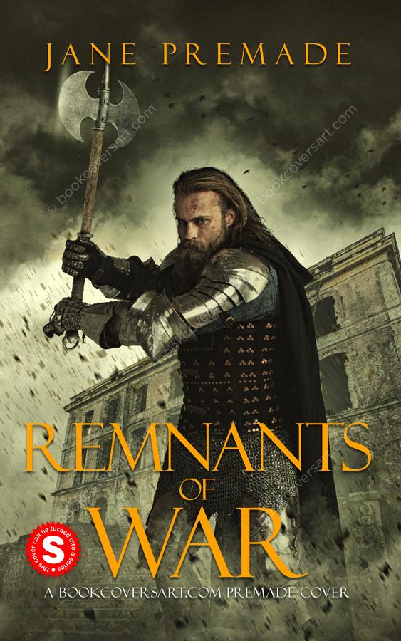 grimdark fantasy premade book cover