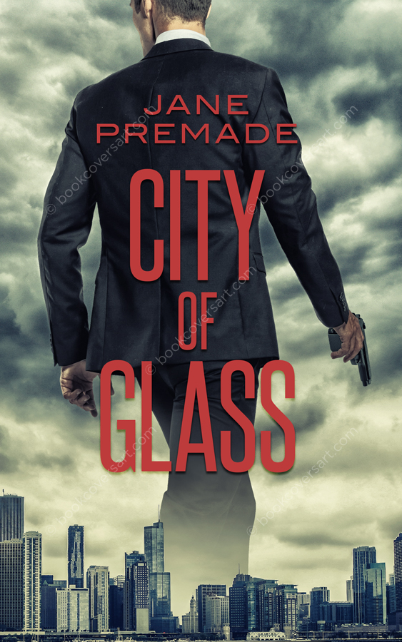 Suspense-Thriller-Premade-Book-Cover-City-of-Glass