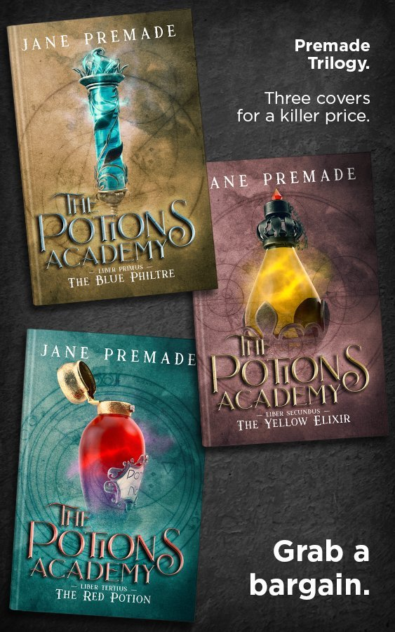 Academy Premade Book Cover Series