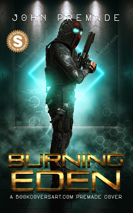 Military-Science-Fiction-GameLit-Game-Lit-Premade-Book-Cover-Burning-Eden