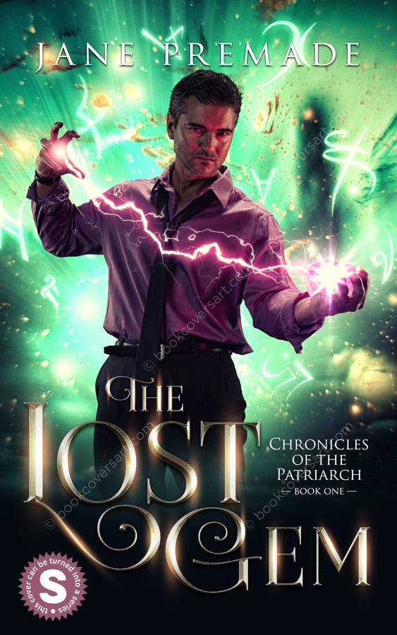 Urban-Fantasy-Magic-Premade-Book-Cover-The-Lost-Gem