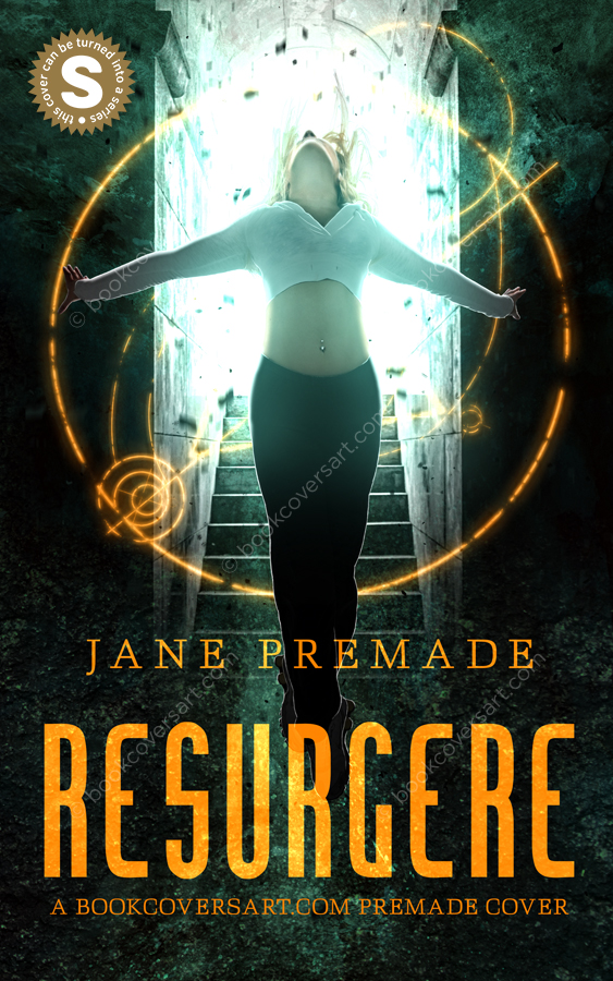 Urban-Fantasy-Soperhero-Supernatural-Paranormal-Premade-Book-Cover-Resurgere