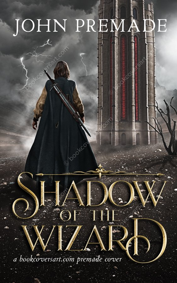 Epic Fantasy Premade Book Cover