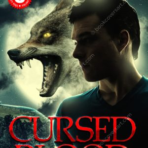 Shifter werewolf premade book cover
