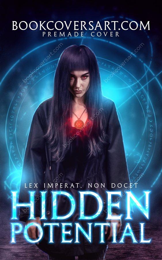 Paranormal Fantasy Horror Premade Book Cover