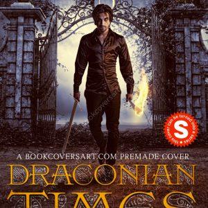 Dark Vampire Gothic Premade Book Cover