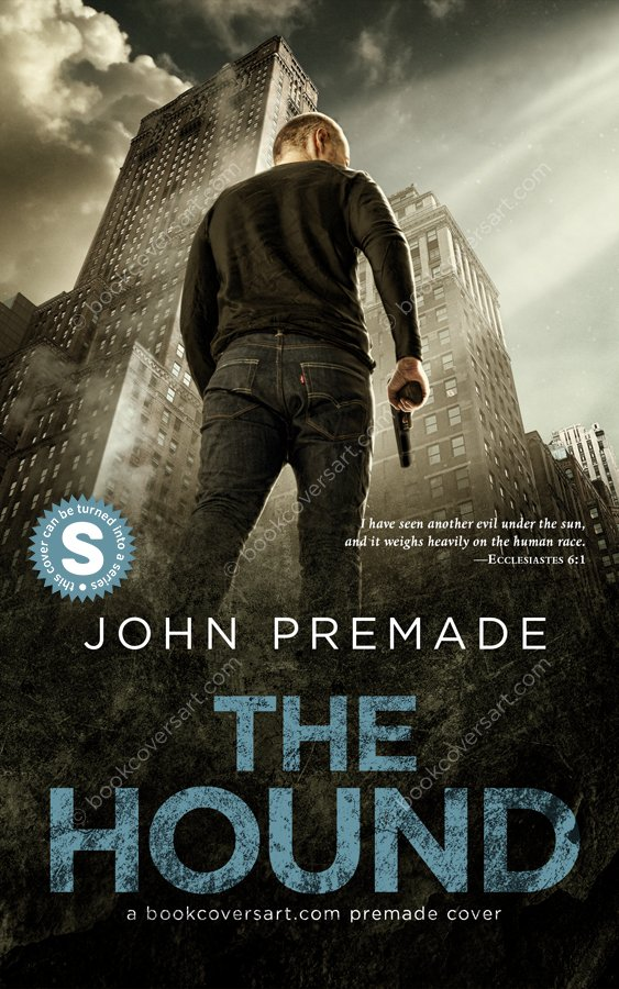Crime Action Thriller Premade Book Cover