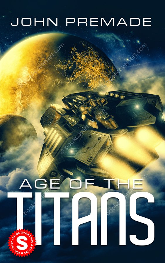 Military Science Fiction Space Opera Book Cover