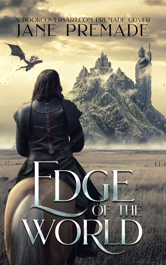 premade fantasy book cover.