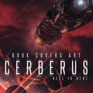 sci-fi premade book cover