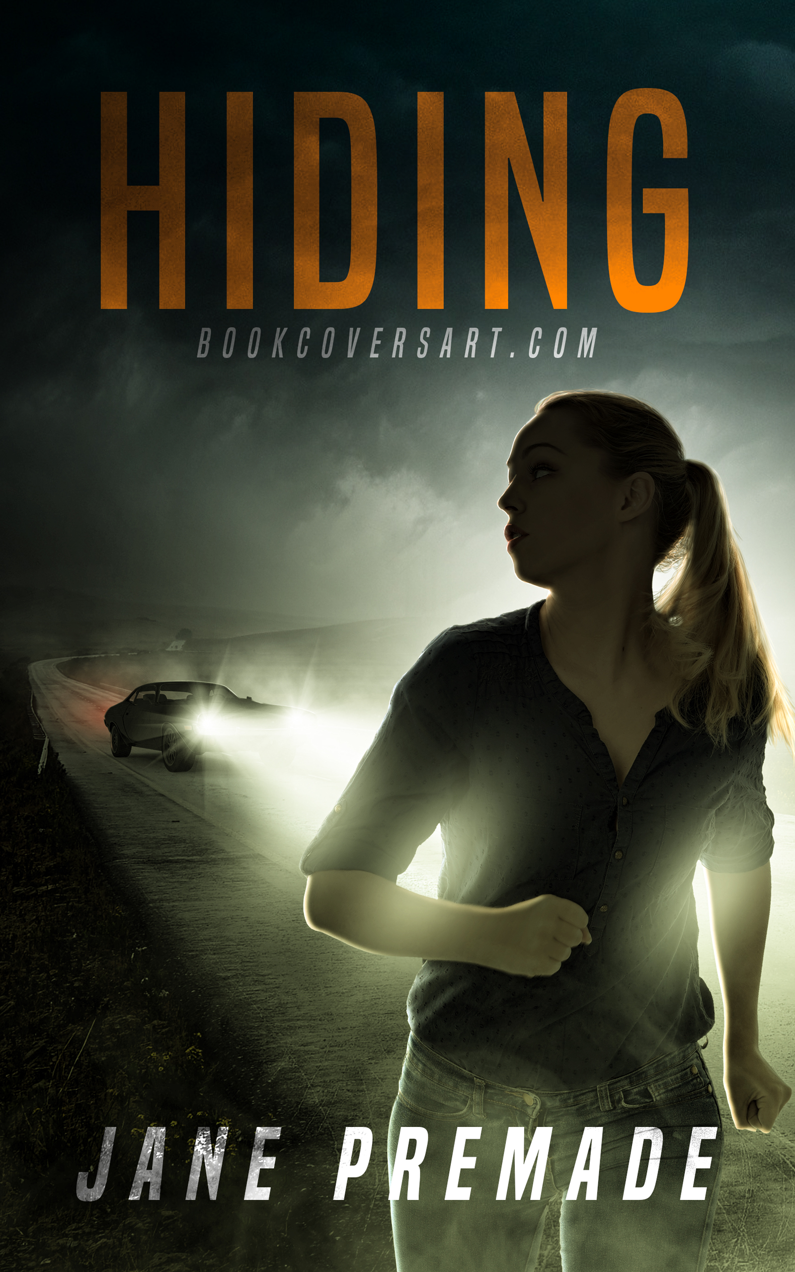Mystery Thriller Premade Book Cover