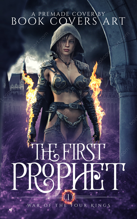 High Fantasy Premade Book Cover